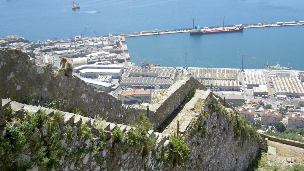 The Mediterranean Steps, Gibraltar