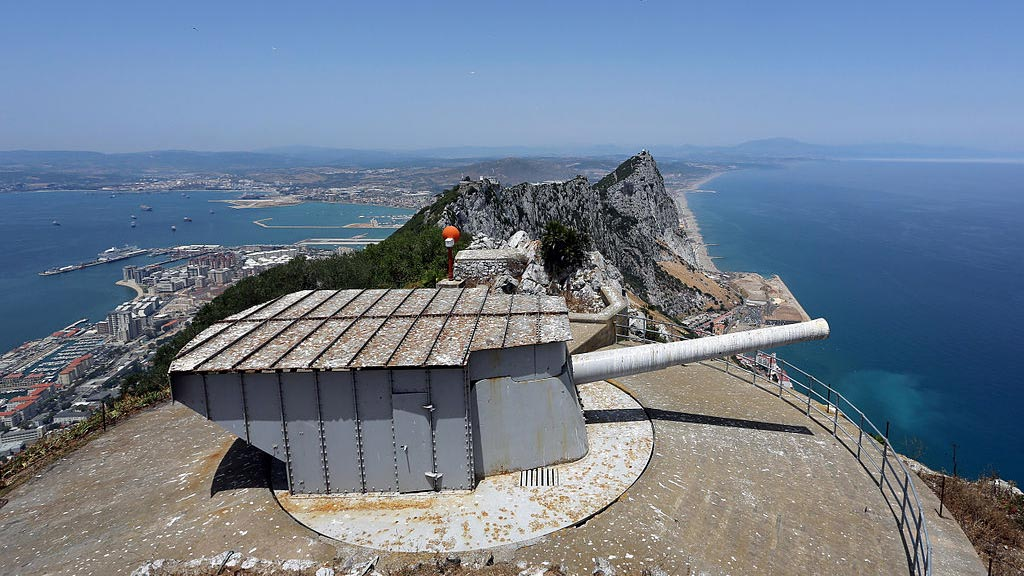 O'Hara's Battery with landscape, Gibraltar