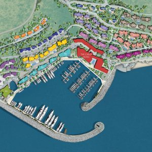 Marina Village plan
